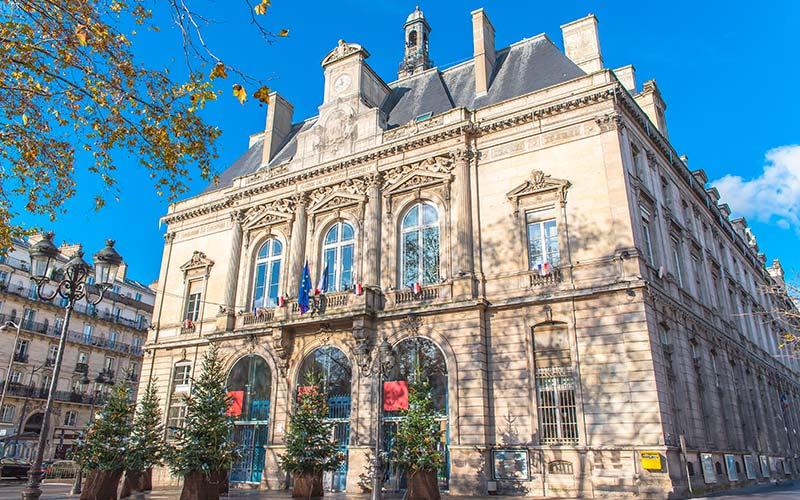 Mairie du 11e - Place Léon Blum