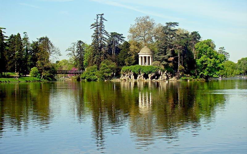 Bois de Vincennes, Lac Daumesnil