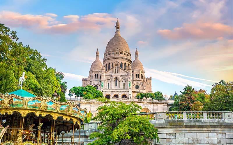 Cathédrale du Sacré Cœur à Montmartre