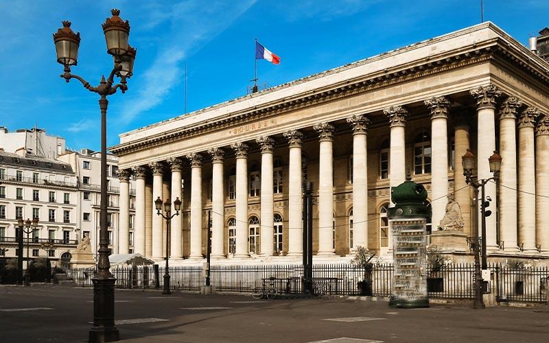 Palais Brongniart - Place de la Bourse