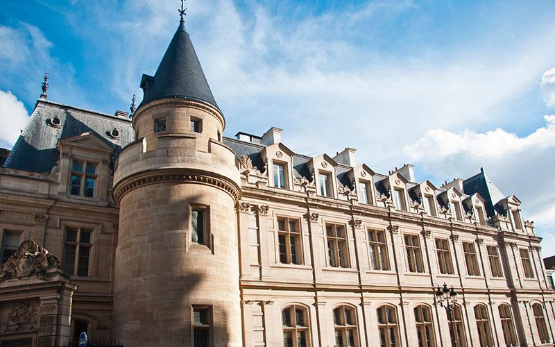 conservatoire national des Arts et métiers dans le 3ème arrondissement de Paris