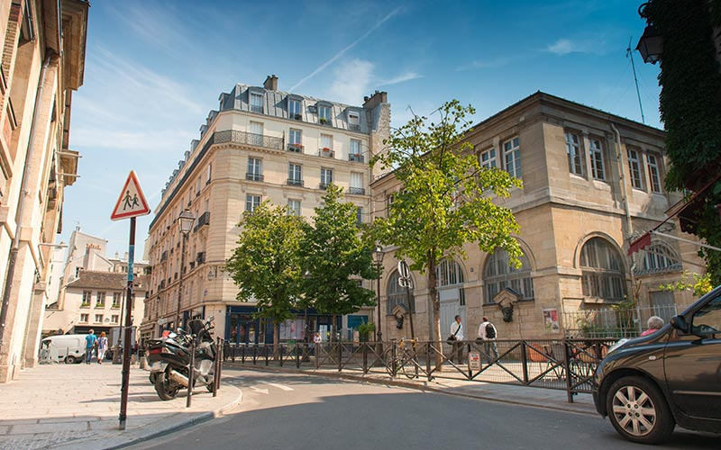 Rue dans le Marais -3e
