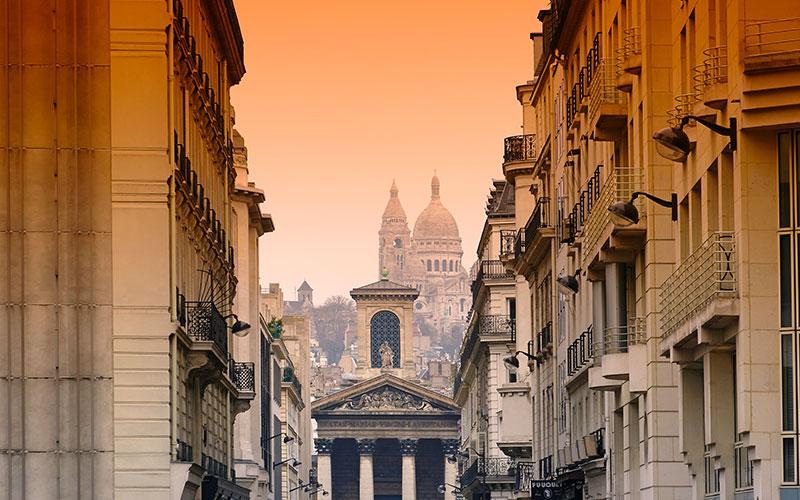 Notre Dame de Lorette et Sacré-Coeur