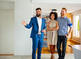 Visiter un bien immobilier