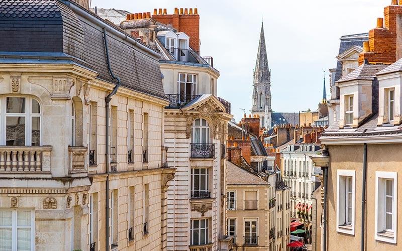 Vue sur Nantes