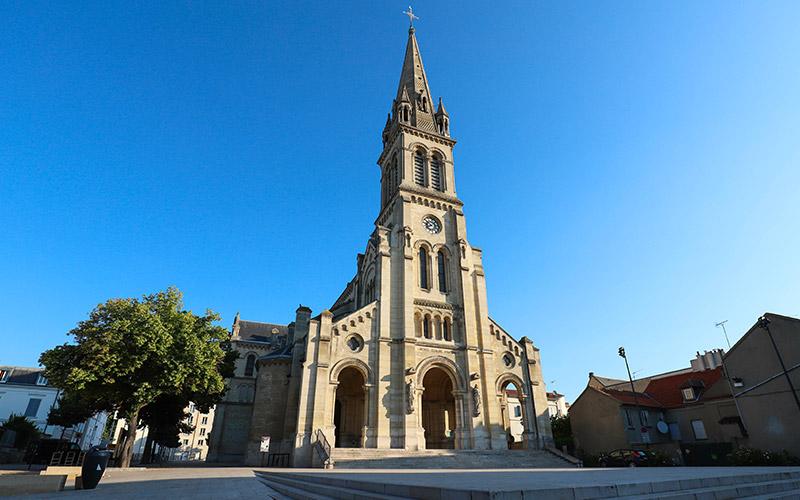 Basilique Saint Denys à Argenteuil