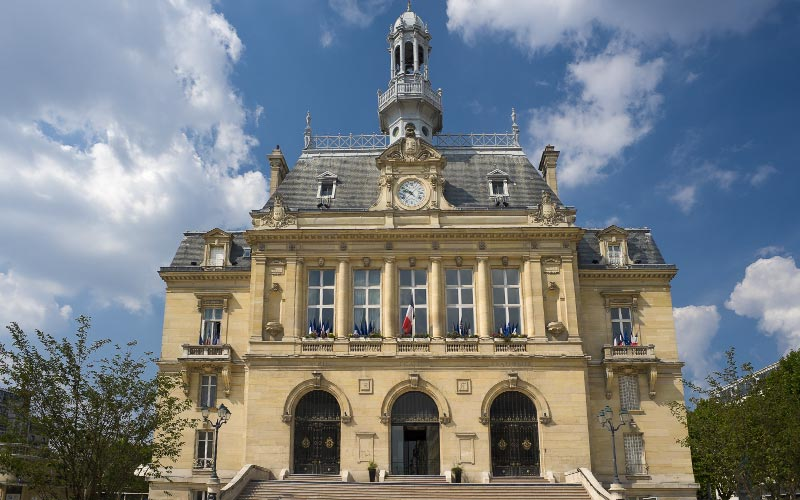 Hôtel de ville de Asnières