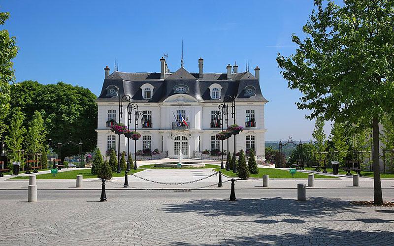 L'hôtel de ville de Athis-Mons