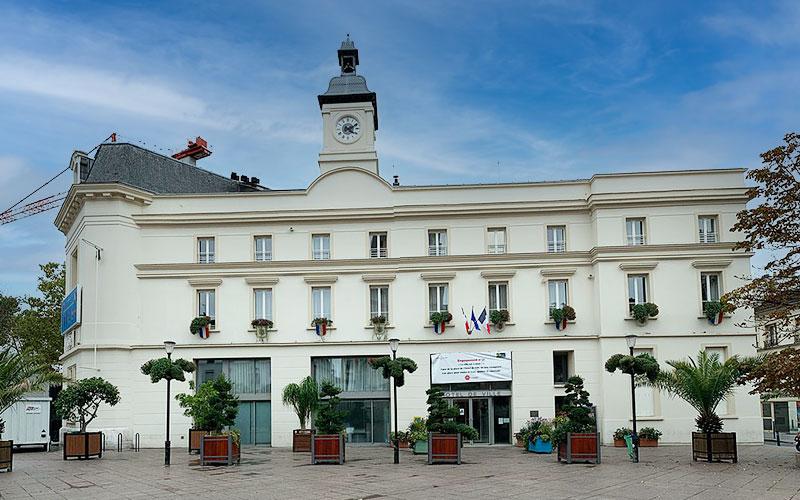 L'hôtel de ville de Aubervilliers