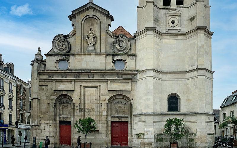 Église Notre-Dame Vertus à Aubervilliers