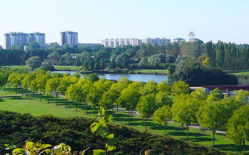 Le parc départemental du Sausset à Aulnay-sous-Bois