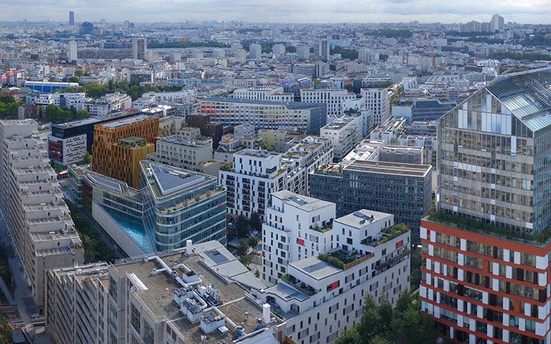 Quartier Trapeze à Boulogne-Billancourt