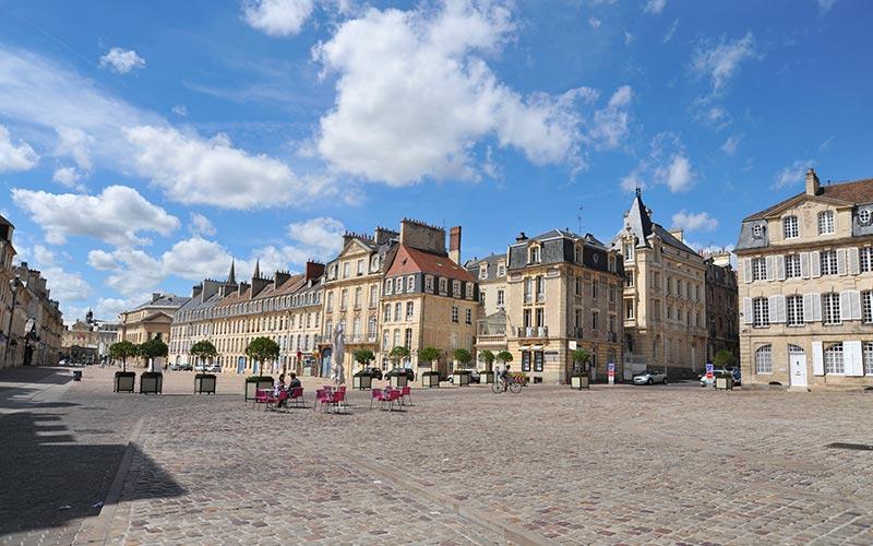 Place Saint-Sauveur à Caen
