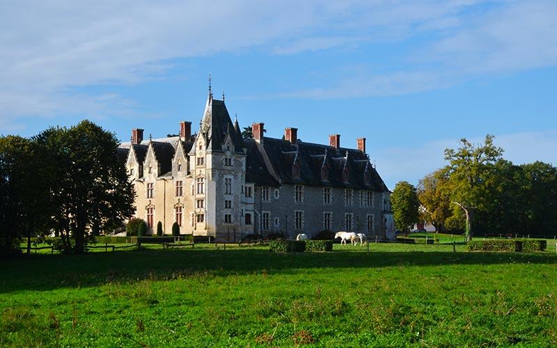 Château de la Gascherie, monument historique, vallée de l'Erdre