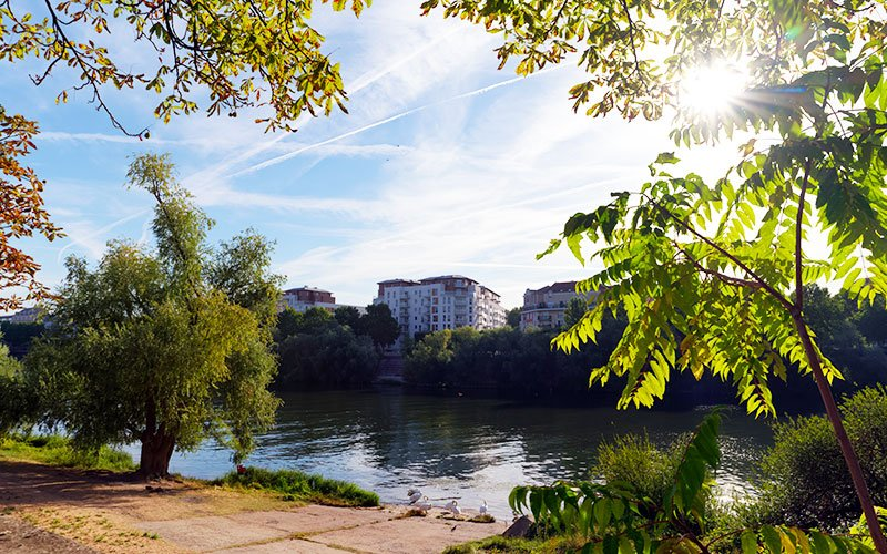 Bords de Seine  à Ivry-sur-Seine