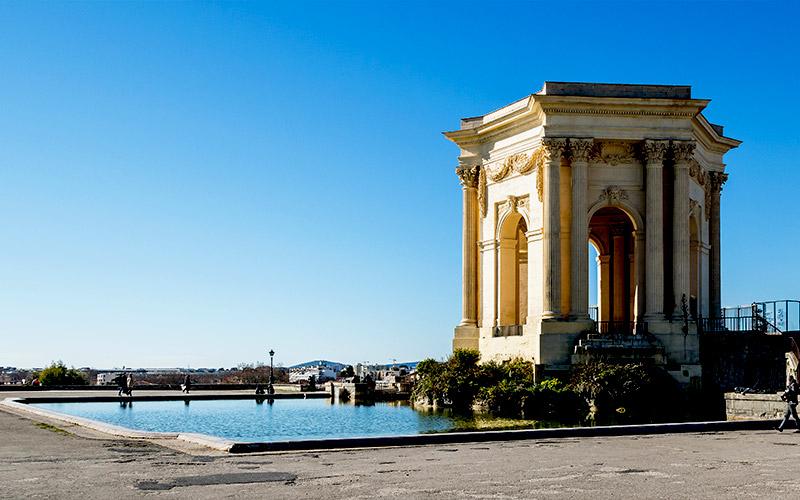 Promenade du Peyrou à Montpellier