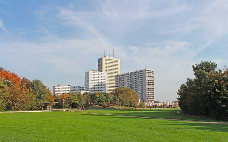 Parc départemental Jean-Moulin - Les Guilands