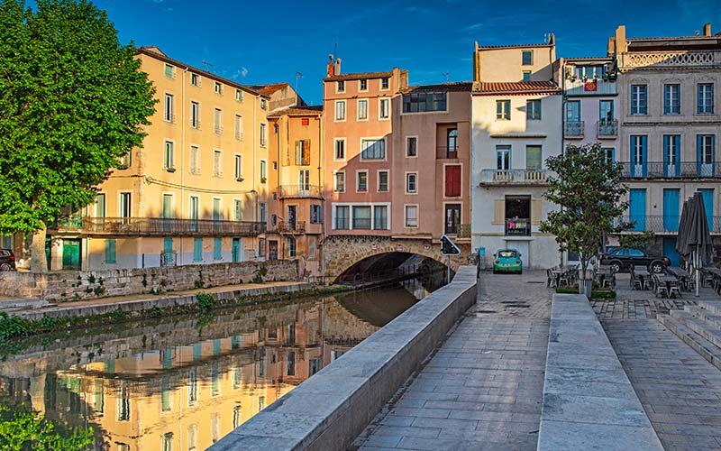 Cours de la République à Narbonne