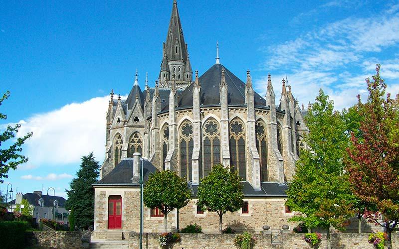 Eglise Saint-Léger à Orvault