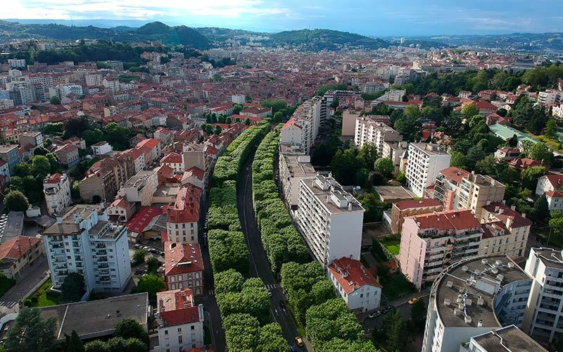 Quartier Fauriel à Saint-Etienne