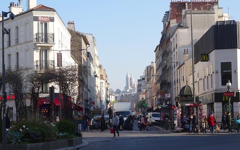 Rue des Rosiers de Saint-Ouen