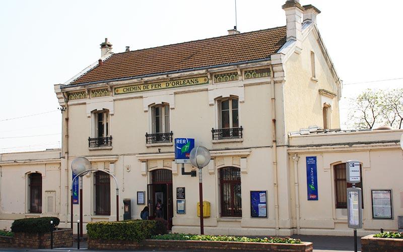 La gare de Savigny-sur-Orge