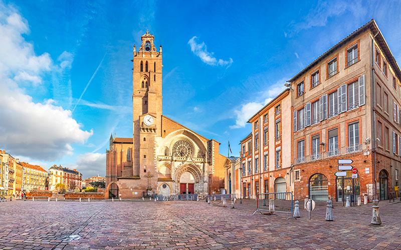 Place Saint-Etienne à Toulouse