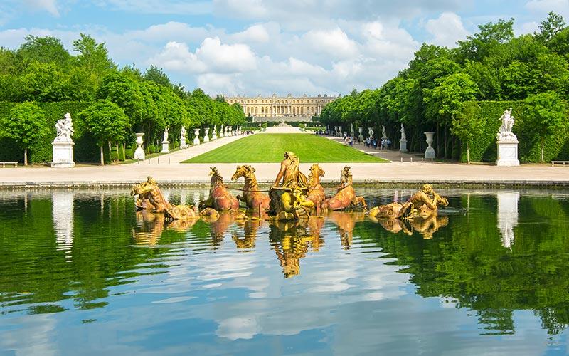Bassin d'Apollon au Château de Versailles