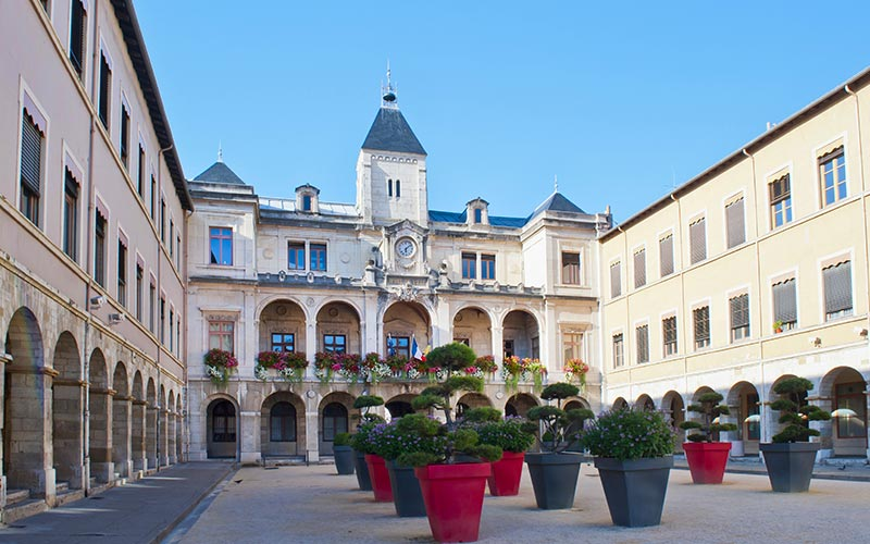 Place de l'hôtel de ville de Vienne