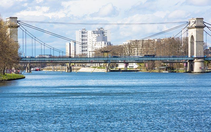 Pont du Port à l'Anglais à Vitry-sur-Seine