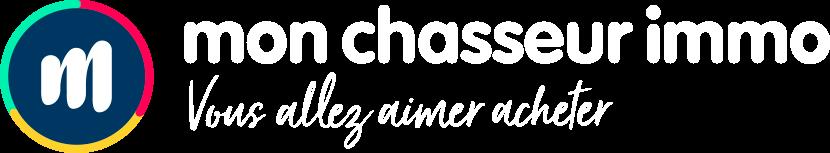 Logo Mon Chasseur Immo avec baseline